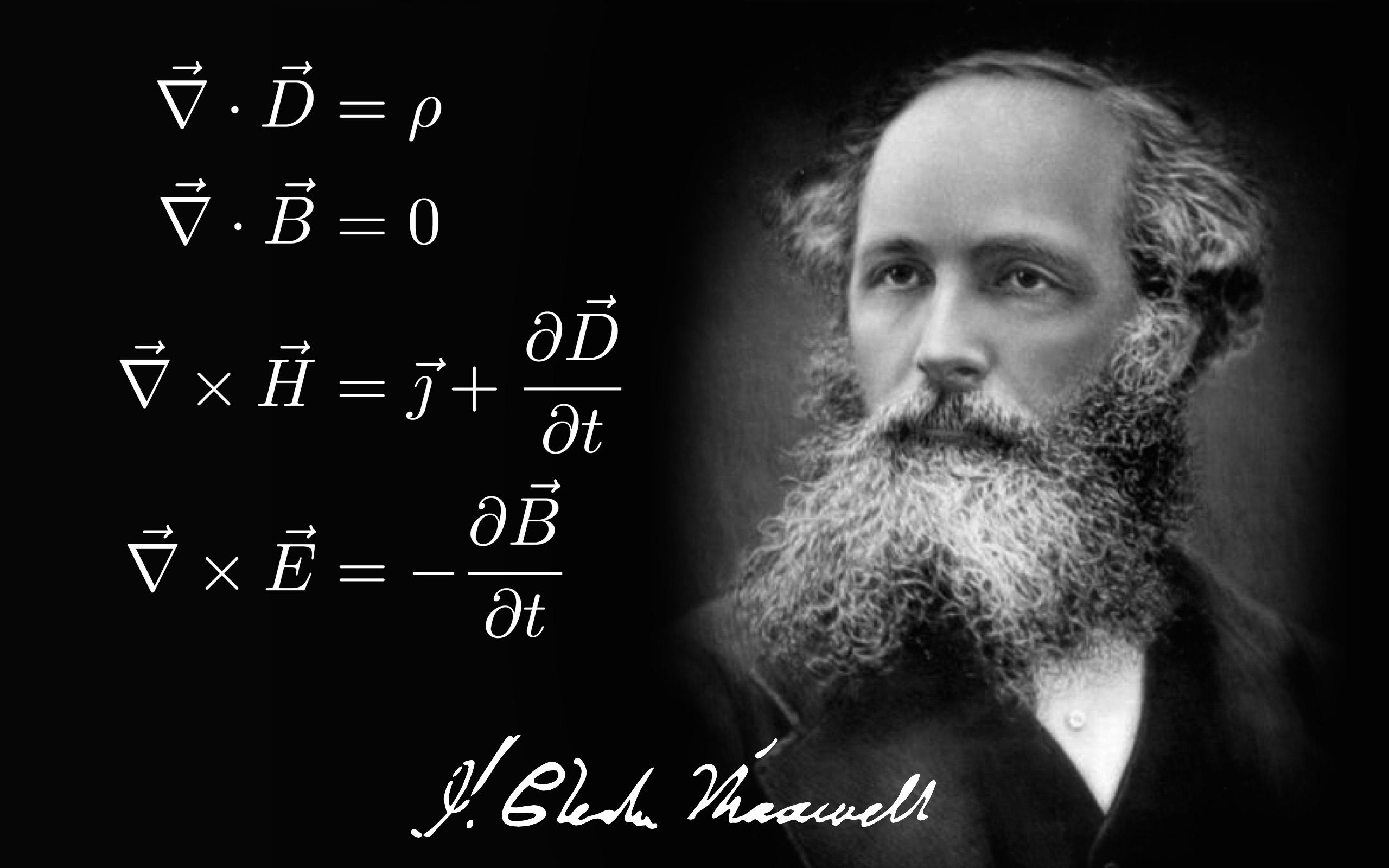 James Clerk Maxwell e le sue equazioni