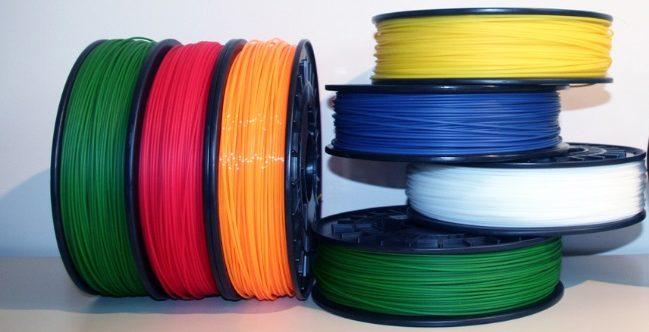 Filamenti stampante 3D
