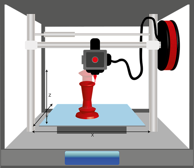 Funzionamento stampa 3D