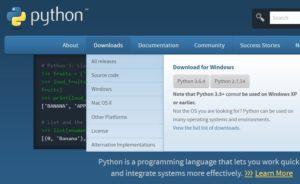 Installazione Python