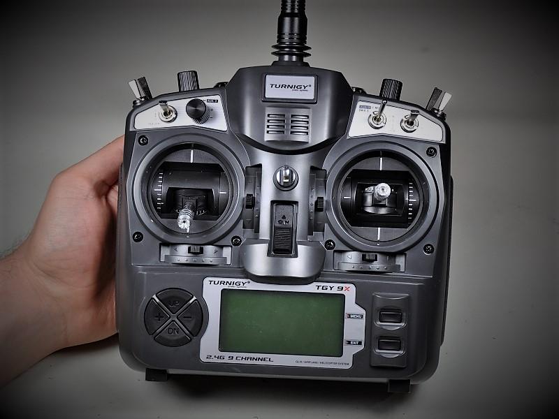 Costruire un drone: configurazione radiocomando Turnigy 9x