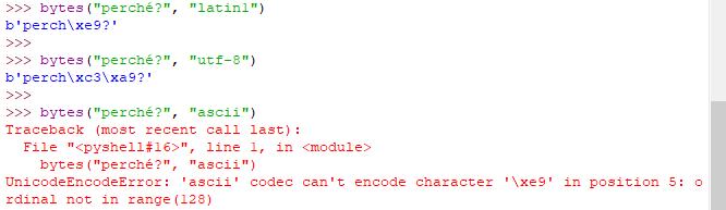 Encoding - Python