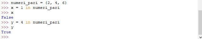 Valori booleani - Python