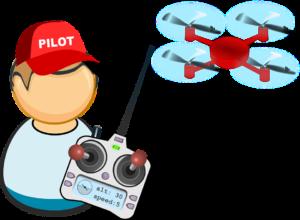 pilotaggio drone