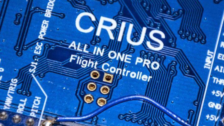 Costruire un drone: configurazione scheda di volo
