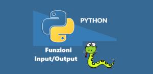 Immagine in evidenza- Funzioni Input/Output